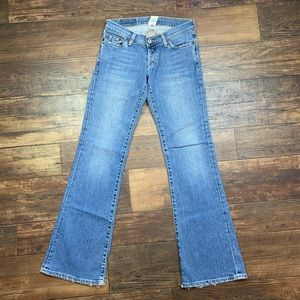 Flare Medium wash Lucky Brand lil' Maggie Jeans